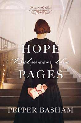 Hope Between The Pages by Pepper Basham book cover
