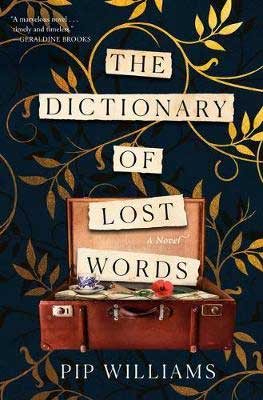 The Dictionary of Lost Words by Pip Williams book cover