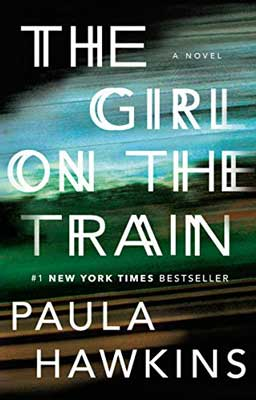 The Girl On The Train by Paula Hawkins book cover