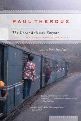 The Great Railway Bazaar by Paul Theroux book cover