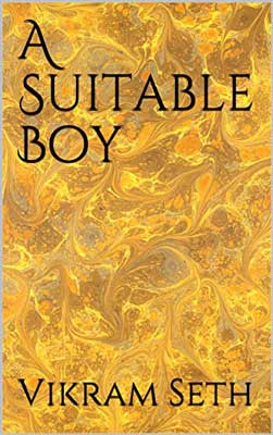 A Suitable Boy by Vikram Seth book cover