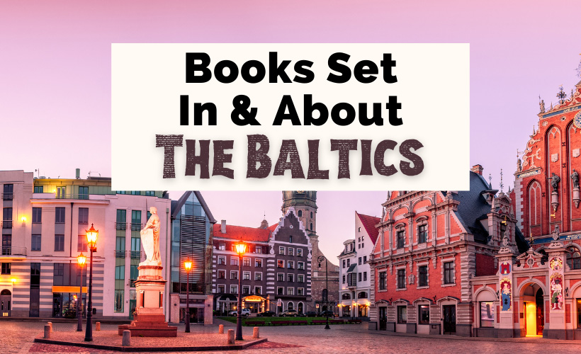 Baltics Books Set In Lithuania Latvia and Estonia with City Hall in Old Town Riga