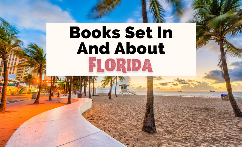 Books About Florida with palm trees, beach, buildings with lights, and sand in Fort Lauderdale, FL
