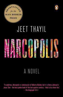 Narcopolis by Jeet Thayil book cover