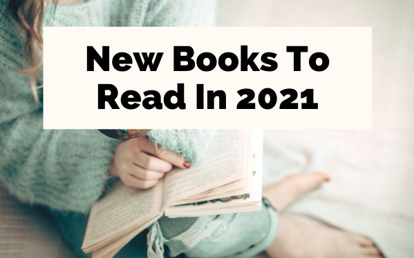 upcoming new 2021 book releases with woman in green sweater reading a book