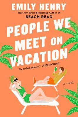 People We Meet On Vacation by Emily Henry book cover
