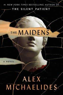 The Maidens by Alex Michaelides book cover, June 2021 book releases