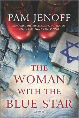 The Woman with the Blue Star Pam Jenoff book cover