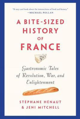 A Bite-Sized History of France by Stephane Henaut book cover