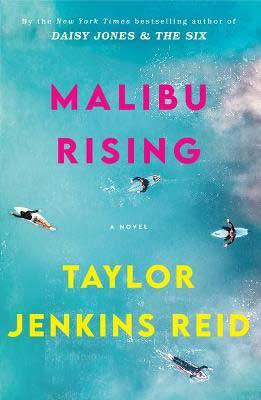 Malibu Rising by Taylor Jenkins Reid book cover