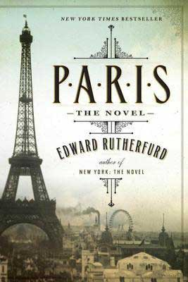 Paris by Edward Rutherfurd book cover