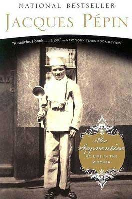 The Apprentice by Jacques Pepin book cover