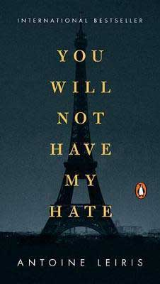 You Will Not Have My Hate by Antoine Leiris book cover