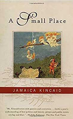 A Small Place by Jamaica Kincaid book cover