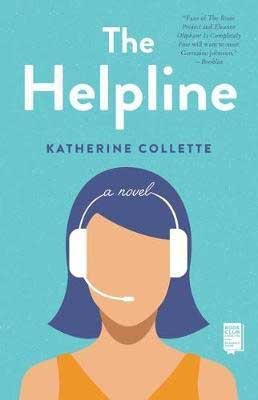 The Helpline by Katherine Collette book cover, debut Australian author