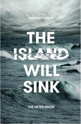 The Island Will Sink by Briohny Doyle book cover, science fiction Australian books