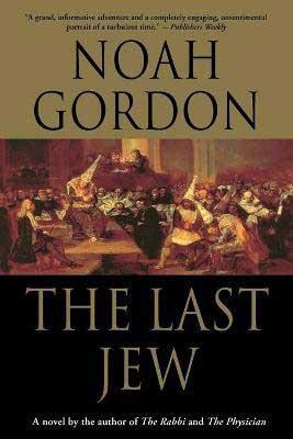 The Last Jew by Noah Gordon book cover