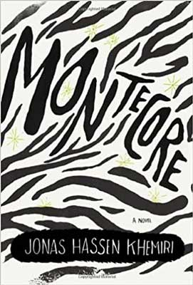 Montecore: The Silence of the Tiger by Jonas Hassen Khemiri book cover with black lines on white background