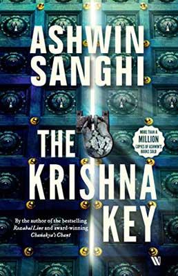 The Krishna Key by Ashwin Sanghi book cover