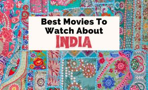 Best Movies About India and South Indian Movies with colorful carpet pattern