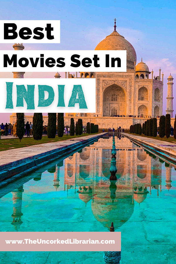 Best Movies Set In India with picture of Taj Mahal and pink blue sky